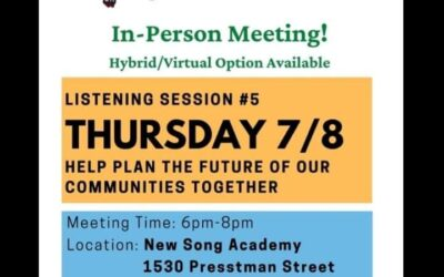 Help Plan The Future of Our Communities Together!